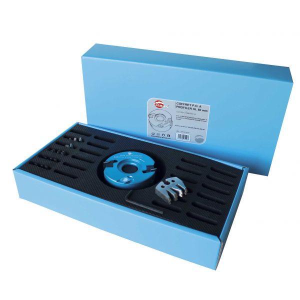 coffret porte outils a profiler hauteur 50 mm 24 paires de fers. Black Bedroom Furniture Sets. Home Design Ideas