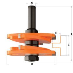 Fraise disque pour rainurer outils pour le travail du bois - Fraise pour defonceuse ...