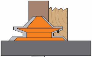 fraises chanfreiner cmt outils pour travailler le bois. Black Bedroom Furniture Sets. Home Design Ideas